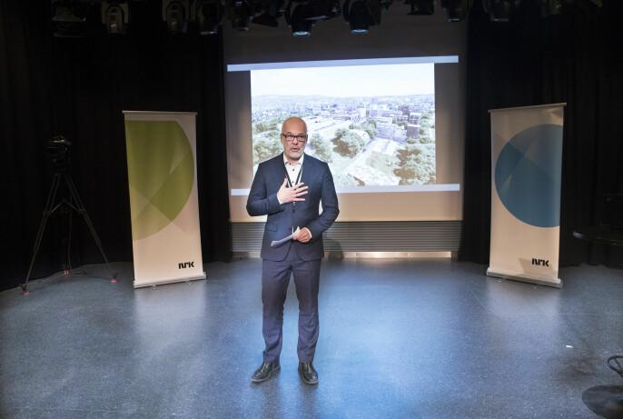 Næringsminister Thor Gjermund Eriksen vet at tæring settes over næring og omvendt.