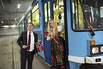 Kjører 17. mai-sending fra Avisa Oslo-trikk