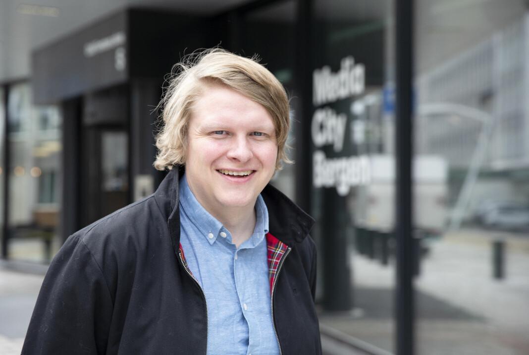 Sølve Rydland, som vaks opp i Knarvik, har jobba i NRK sidan 2005.