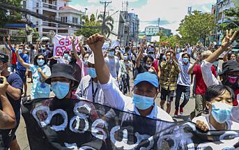 Journalist dømt til tre år i Myanmar
