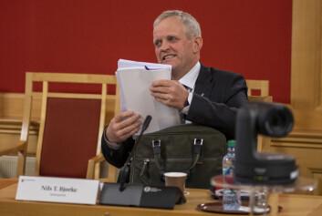 Nils T. Bjørke, stortingsrepresentant for Sp.