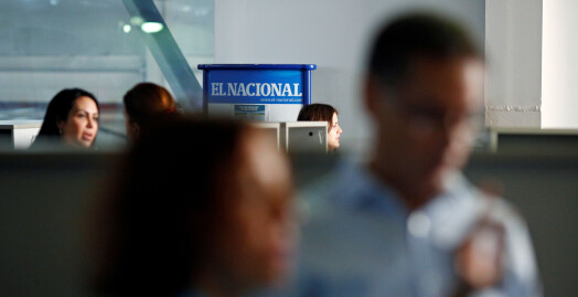 Venezuela tar beslag i storavis