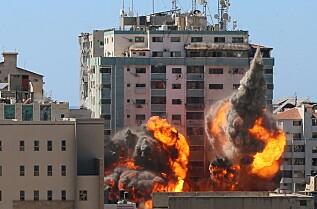 Israel sier Hamas hadde omfattende virksomhet i mediebygningen