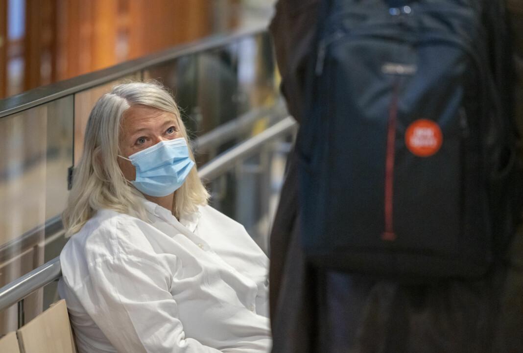 NRK-vaktsjef og tidligere tillitsvalgt Berit Rekaa vitnet i Oslo tingrett.