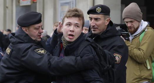 Hviterusslands president tvang ned Ryanair-fly for å pågripe journalist og regimekritiker