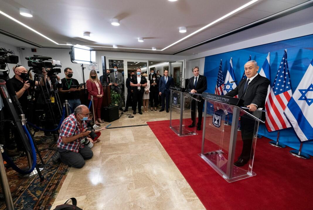 Statsminister Benjamin Netanyahu beskylder åpent pressen for å drive heksejakt mot ham, og gjør lite for å stanse sine tilhengeres trakassering og trusler mot mediefolk.
