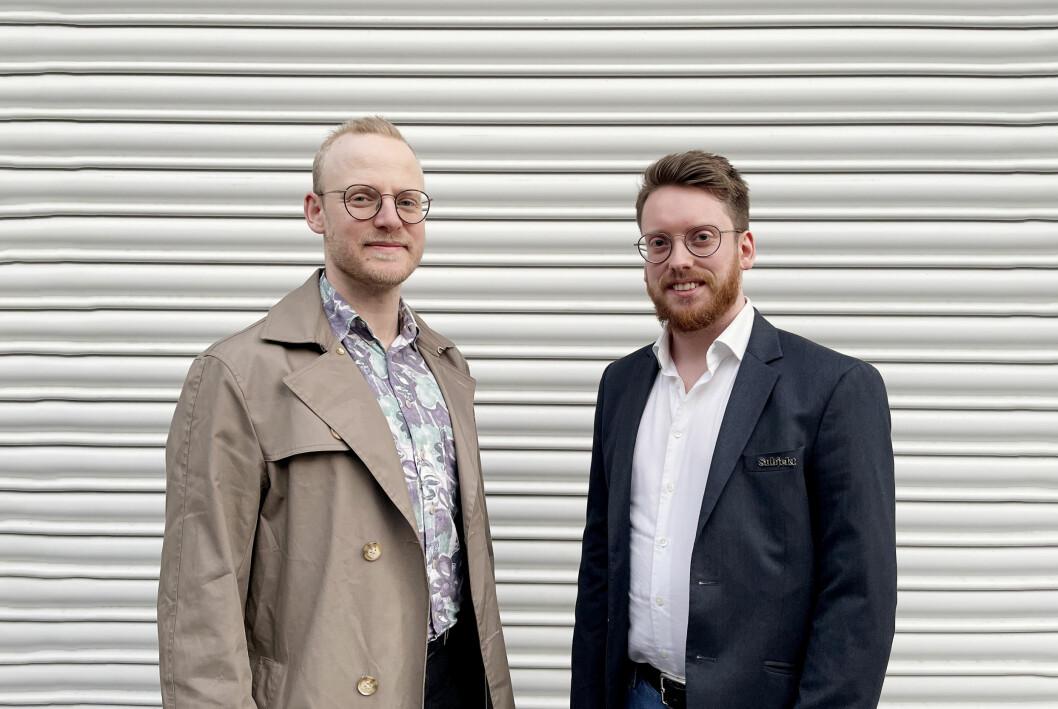 Subjekt styrker staben med to faste journalister: Geir Bergersen Huse (til venstre) og Peter-André Hegg.