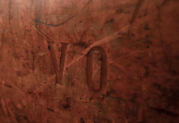 Initialene V.Q. for Vidkun Quisling er merket på kofferten.