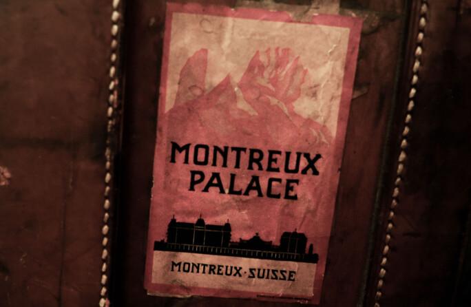 Merket på Quislings koffert er fra en fascistkonferanse i Montreux, Sveits. Da han dro dit valgte han den tyske nazismen.