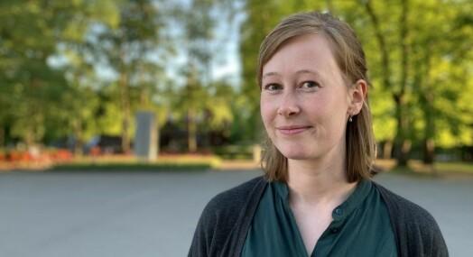 Kristine Sterud er ansatt som debattansvarlig i Medier24