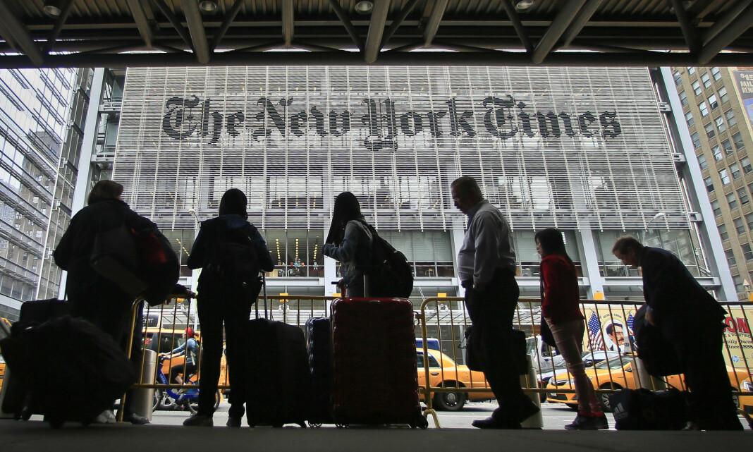 Trump-administrasjonen hentet inn telefonlogger fra journalister
