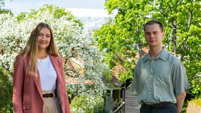 Jenny og Jonas fast ansatt som journalister i Psykologisk.no