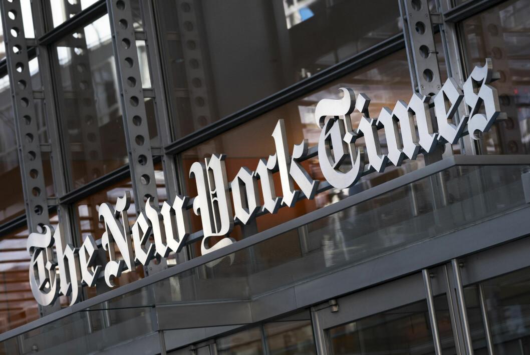 New York Times er blant medieselskapene som har problemer med nettsidene sine tirsdag.
