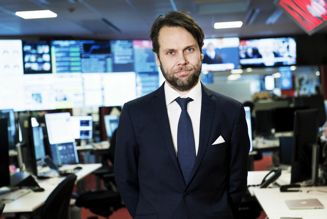 Redaksjonssjef Magnus Alselind i Expressen skal fremover lage klimajournalistikk uten klimaredaksjon.