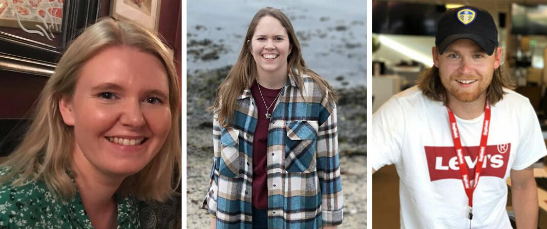 Pernille Johnsen, Ina-Kristin Lindin og Nicolai Delebekk er nye ansatte i Faktisk.