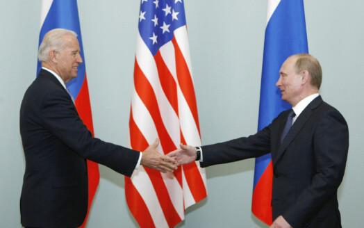 Ingen felles pressekonferanse med Biden og Putin
