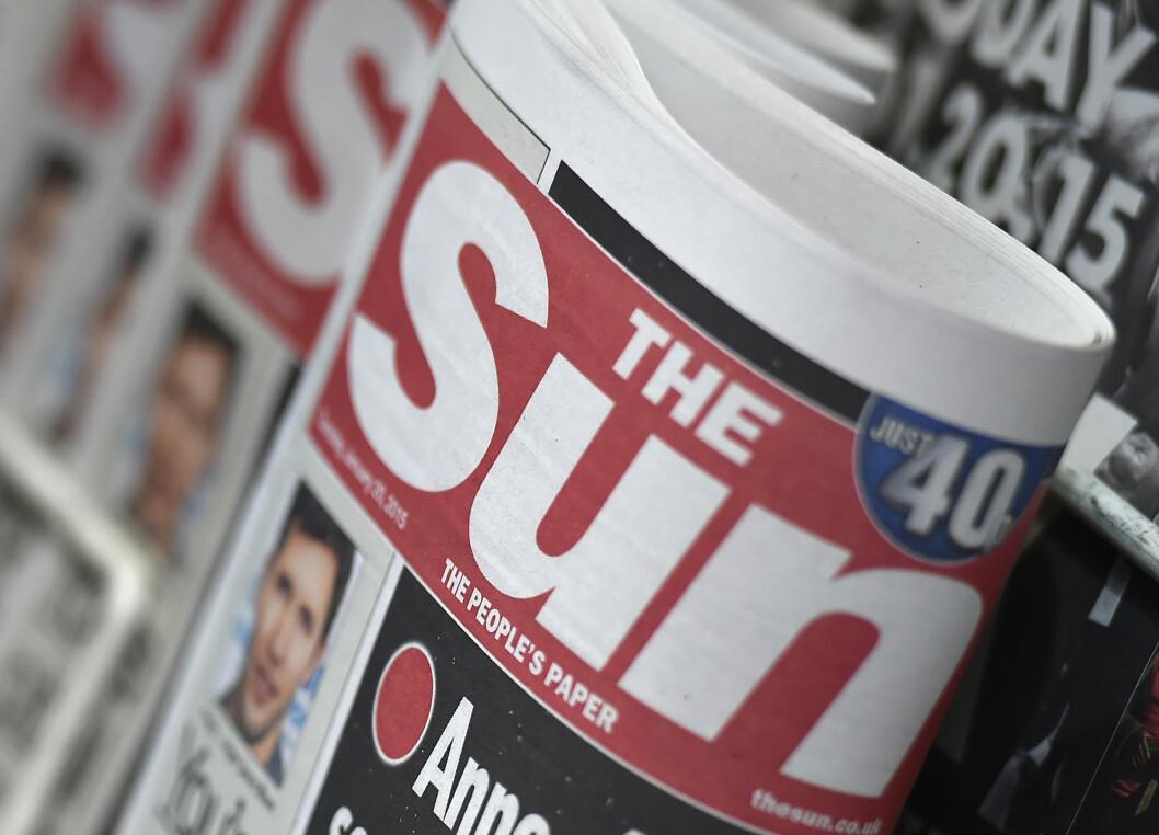 Rupert Murdoch-eide The Sun er blitt et tapssluk.