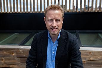 Kristoffer Egeberg, ansvarlig redaktør i Faktisk.no.