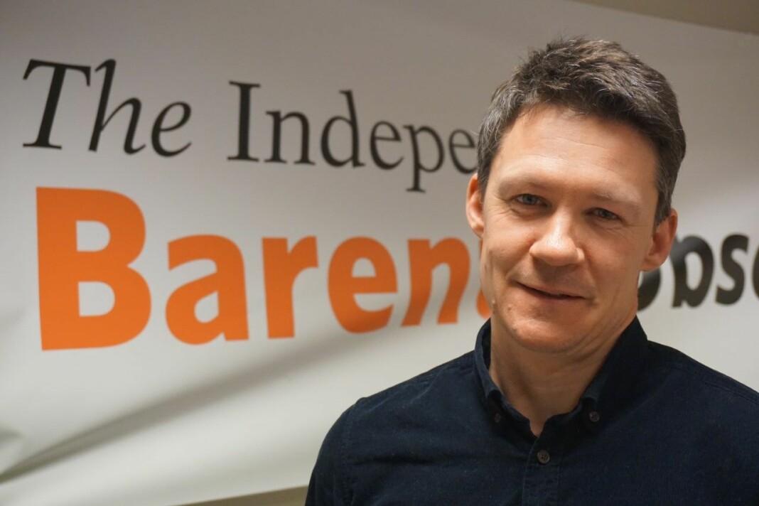Atle Staalesen, publisist og journalist i The Barents Observer.