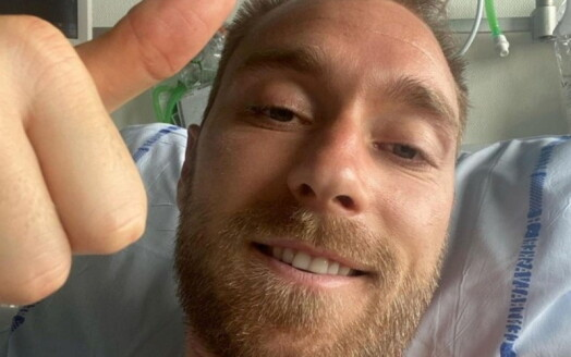 Danskene var desperate etter nyheter om Christian Eriksen