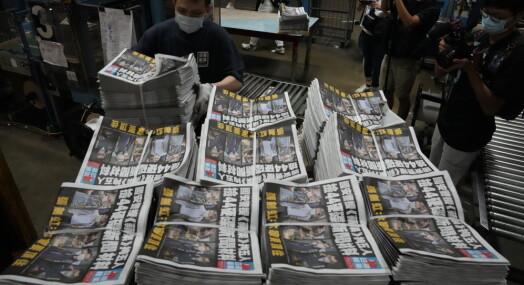 Hongkong-avis kan bli tvunget til å avvikle driften innen få dager