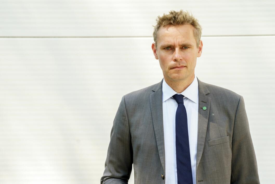 Tidligere statsråd Ola Borten Moe var ikke fornøyd med beklagelsen til NRK.