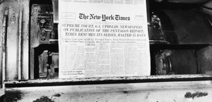 Lekkasjen endret en krig og skapte pressehistorie
