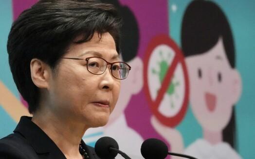 Hongkong-leder sier mediene ikke må undergrave myndighetene