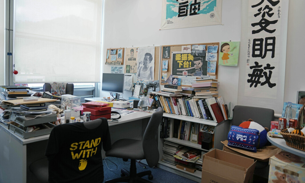 Hongkong-avisen Apple Daily stenger torsdag