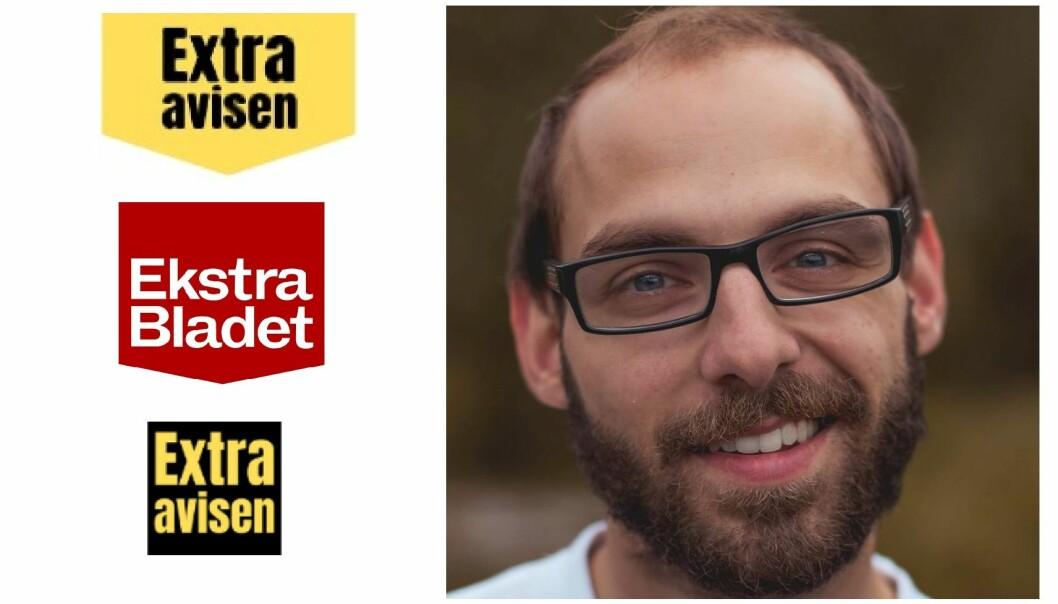 I dag bruker Extraavisen den nederste logoen, etter å ha endret fra en som kunne minne om danske Ekstra Bladet. Daniel DeNiazi er redaktør.