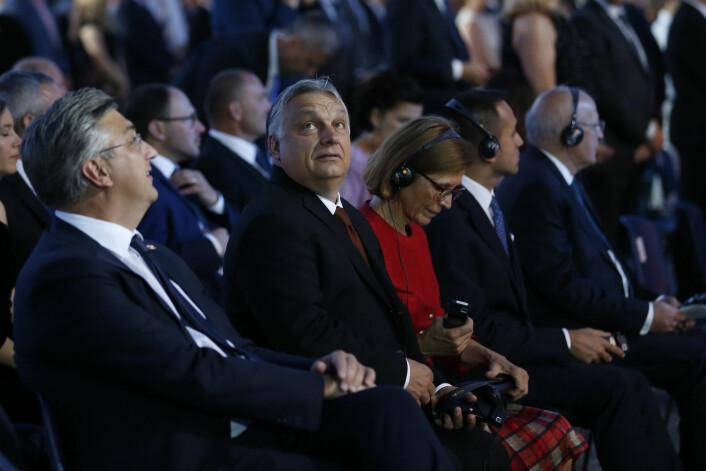 Orbán rykker inn annonse i dansk avis
