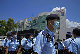Apple Daily-redaktør pågrepet da han prøvde å forlate Hongkong