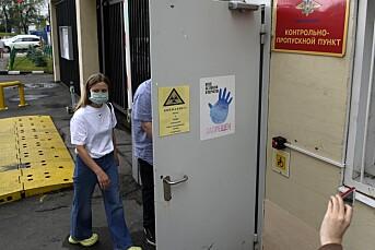 Politirazzia mot russiske gravejournalister
