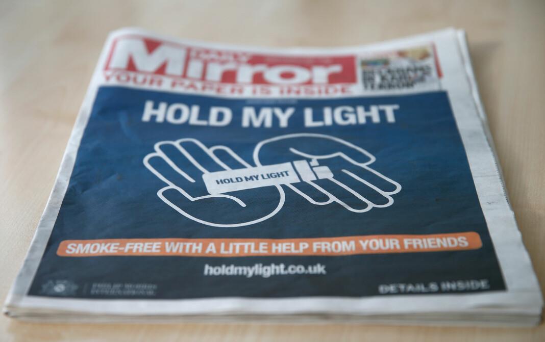 Tabloidavisen Mirror er blant mediene som skal få nettsikkerhetsredaktør.