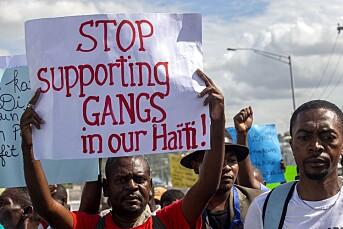 Journalist blant de drepte i gjengskyting i Haiti