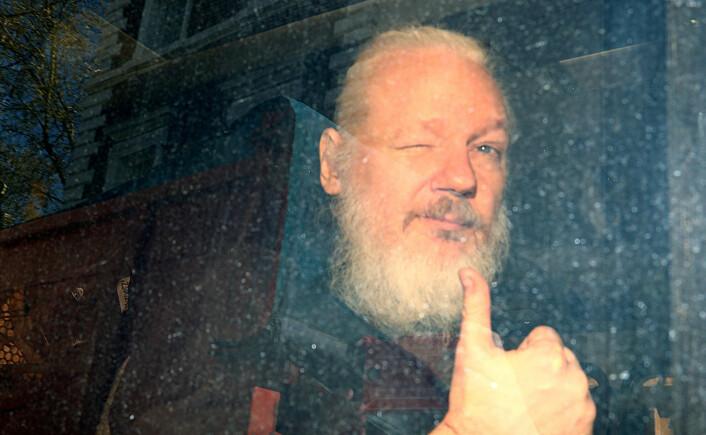 Hvorfor er ikke utviklingen i Assange-saken en nyhetssak?