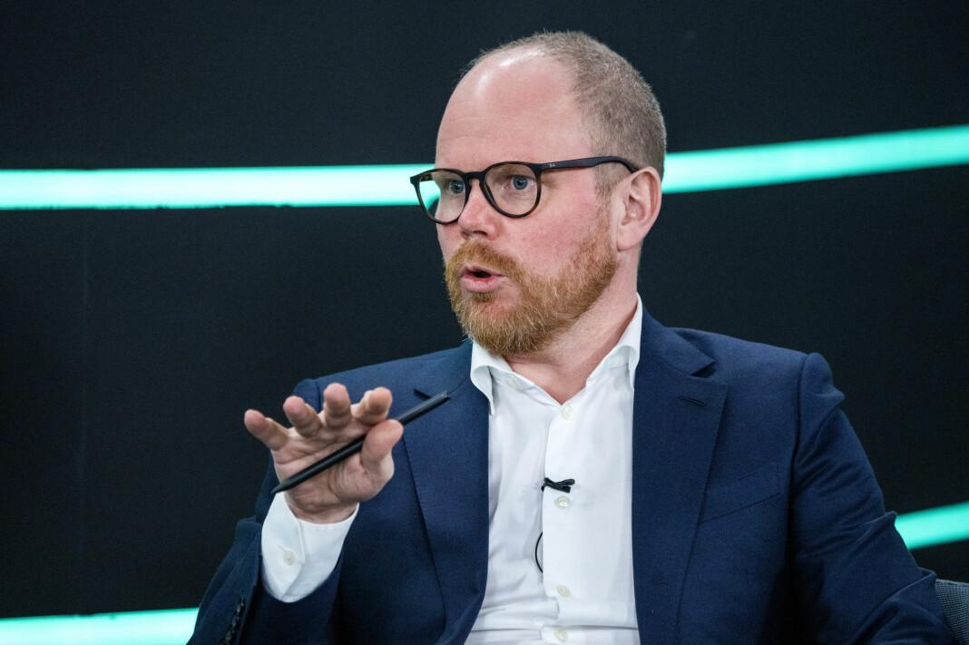 Gard Steiro, ansvarlig redaktør og administrerende direktør i VG.