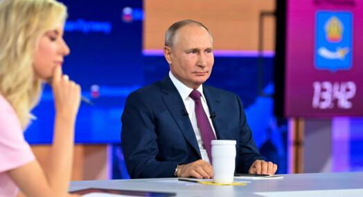 Putin strammer grepet om uavhengige journalister