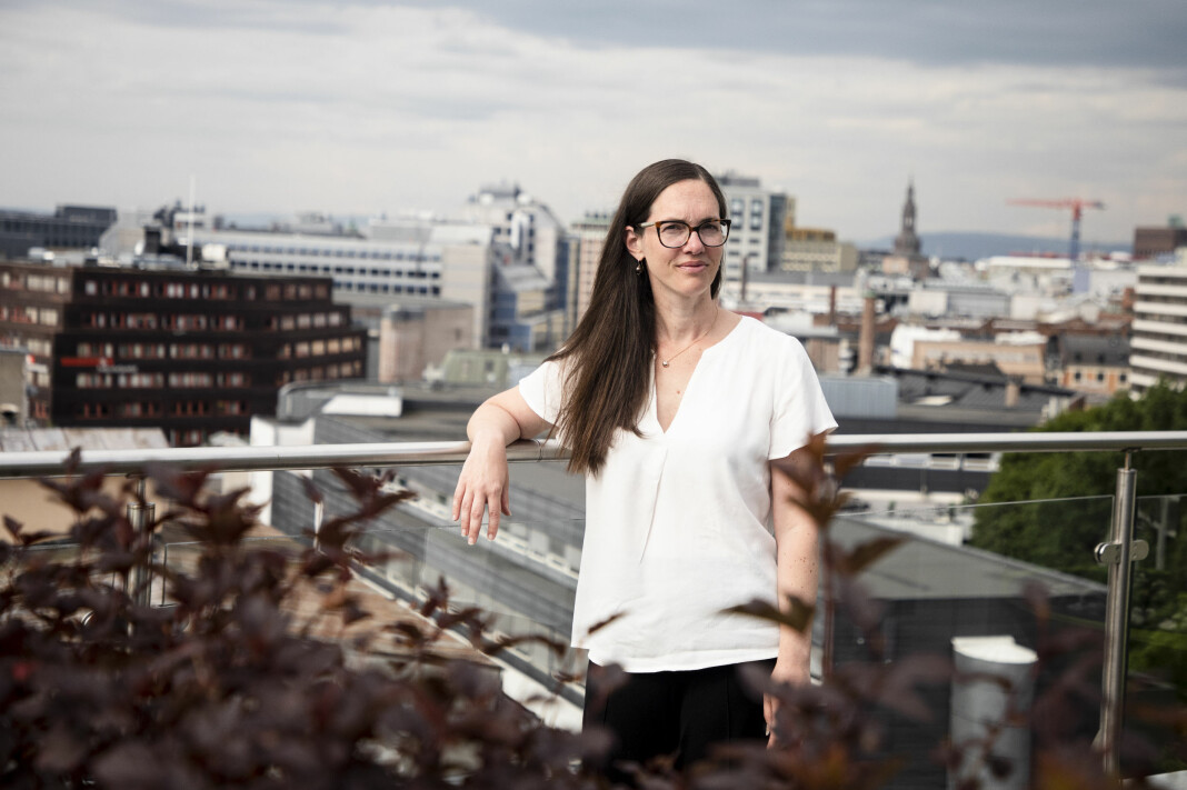 Ny direktør i konsernledelsen i NHST, Ariane Grumstad.