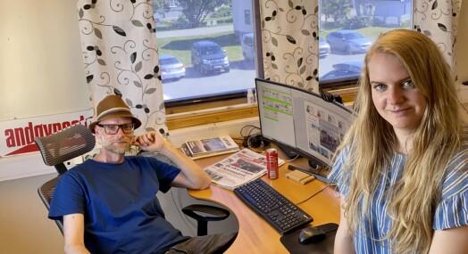 Hverdagen med 2,4 redaksjonelt ansatte: – Vi er heldige som har et engasjert lokalsamfunn