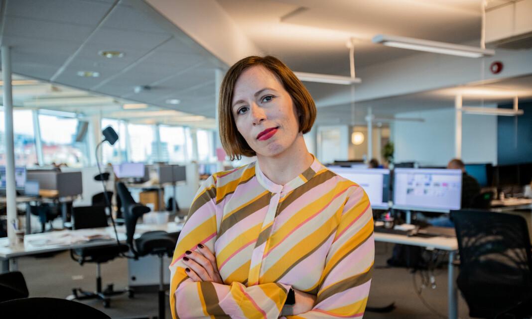 Ingeborg Volan forlater DN