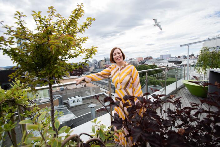 Ingeborg Volan i DN er teknologientusiast. – Ting som var umulig for kun fem år siden er plutselig veldig enkle i dag, sier hun.