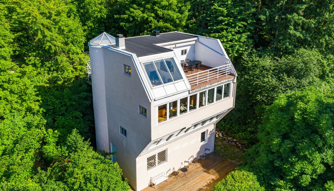 Denne boligen på Ljan i Oslo blir overtatt av NRK denne uka.