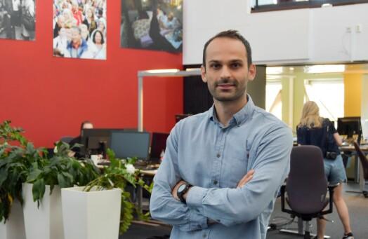 Arianit Selmani blir fast ansatt journalist i Tønsbergs Blad