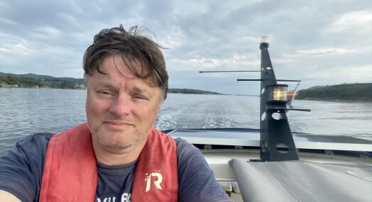 Per-Helge fikk tommel opp fra jobben: Tar NTB-vakter fra båt langs norskekysten i hele sommer