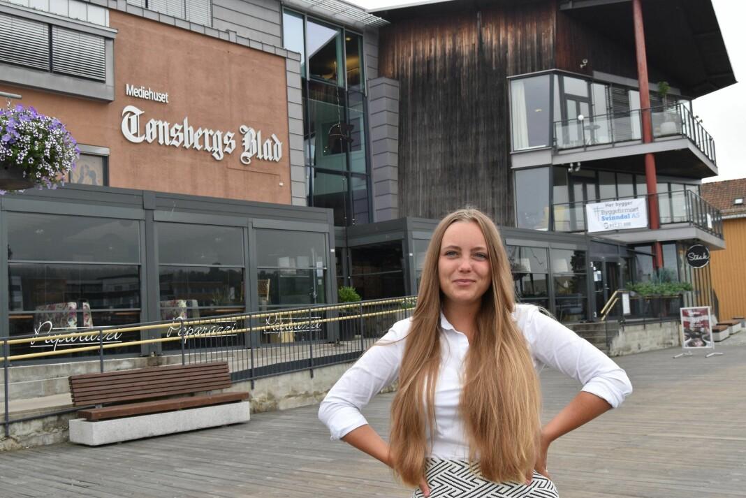 Julia Horn blir Tønsbergs Blad-journalist, og tar gjerne imot tips om miljø- og klimasaker.