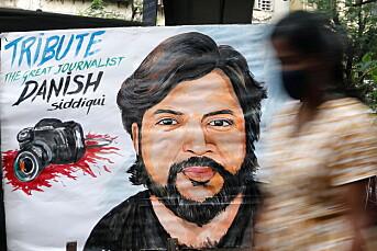 Fotojournalist drept i Afghanistan