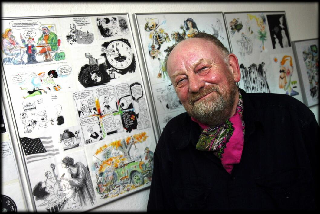 Den danske avistegneren Kurt Westergaard er død.
