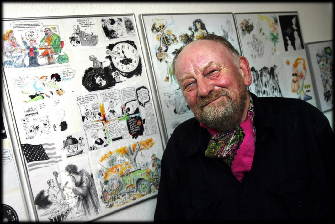 Kurt Westergaard, kjent for sine Muhammed-karikaturer, er død