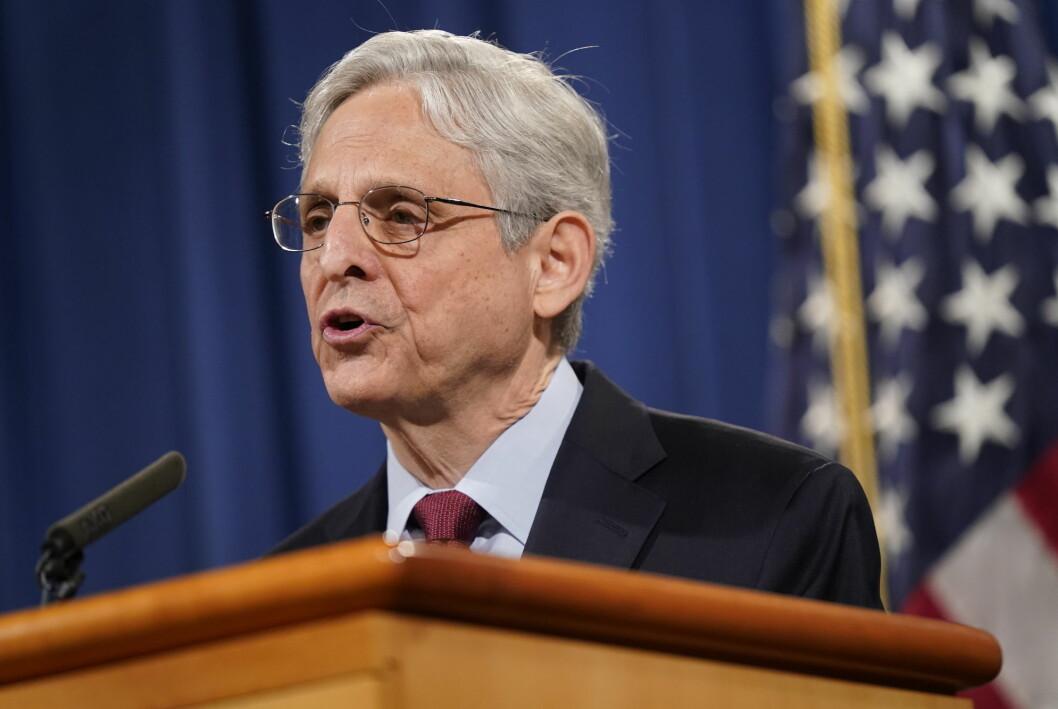 USAs justisminister Merrick Garland har formelt forbudt føderal påtalemyndighet å beslaglegge journalisters materiale i etterforskning av lekkasjer – med enkelte unntak.